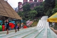 Runout-Sections-of-Ivory-Coloured-Racer-Slide-Sunway-Lagoon-KL-Malaysia