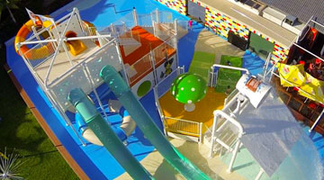 Children's Waterslides & Play Structures