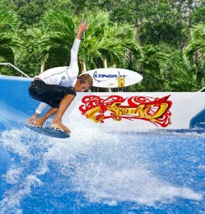 Surf-Air Portable Standing Wave Ride