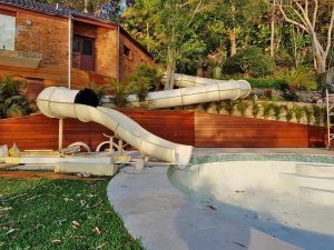 Site Specific Custom Waterslide Design