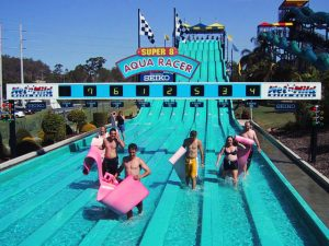 8 Lane Race Waterslide