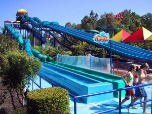Waterslide runouts