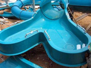 Waterslide starter tubs