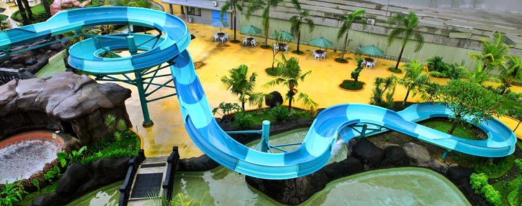 Pandawa Water Park, Solo Baru, Indonesia